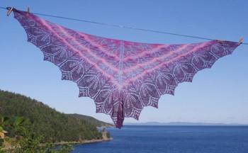 My lace knitting